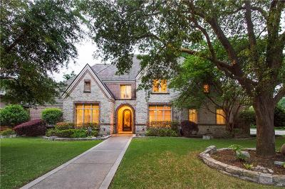 Allen, Dallas, Frisco, Plano, Prosper, Addison, Coppell, Highland Park, University Park, Southlake, Colleyville, Grapevine Single Family Home For Sale: 6206 Dykes Way