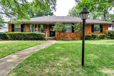 Dallas Single Family Home For Sale: 5860 Marview Lane