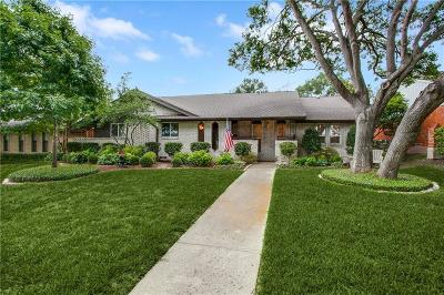 Dallas Single Family Home For Sale: 9522 Heatherdale Drive