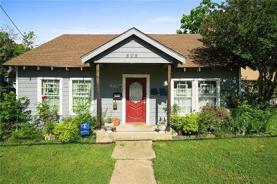 McKinney Single Family Home For Sale: 808 S Tennessee Street