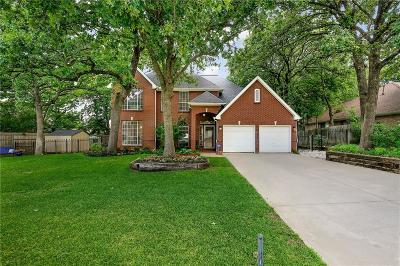 Grapevine Single Family Home For Sale: 1820 Rolling Ridge Drive