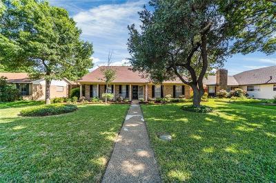 Richardson Single Family Home Active Option Contract: 1902 J J Pearce Drive