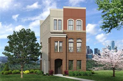 Dallas Townhouse For Sale: 1394 Branchwood Place