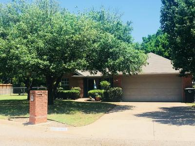 Cleburne Single Family Home Active Option Contract: 1301 Clearfield Drive