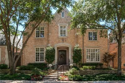 Dallas Single Family Home For Sale: 5724 Wortham Lane