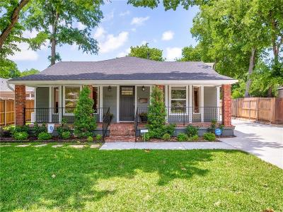 Fort Worth Single Family Home For Sale: 3136 Edgehill Road