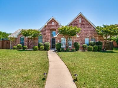 Plano TX Single Family Home Active Option Contract: $415,000