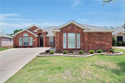 Fort Worth Single Family Home Active Option Contract: 10428 Bear Creek Trail
