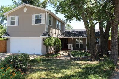 Lewisville Single Family Home Active Option Contract: 126 Pleasant Run
