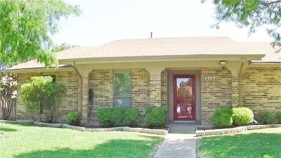 Garland Single Family Home Active Option Contract: 2922 Hazelwood Drive