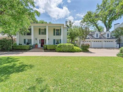 Fort Worth Single Family Home For Sale: 3748 Country Club Circle