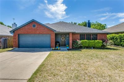 Fort Worth Single Family Home Active Option Contract: 4721 Saint Thomas Place