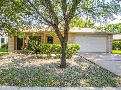 Arlington Single Family Home For Sale: 2207 Pennington Drive