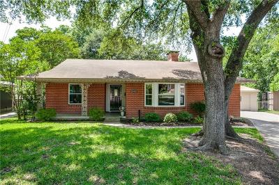 Dallas Single Family Home Active Option Contract: 2102 Healey Drive