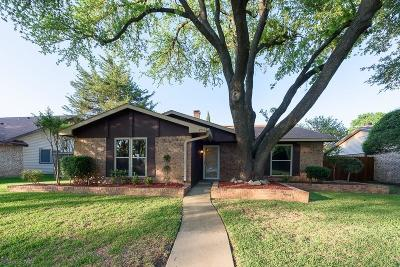 Garland Single Family Home Active Option Contract: 5706 Bentley Drive