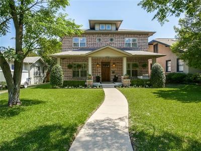 Dallas Single Family Home For Sale: 5922 Belmont Avenue