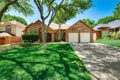 Grapevine Single Family Home Active Option Contract: 527 Westbury Drive