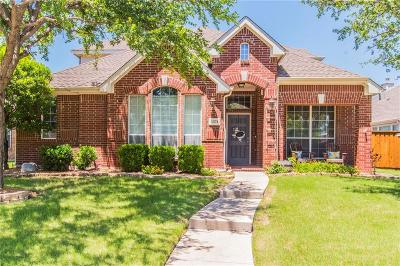 Frisco Single Family Home Active Option Contract: 2874 Del Largo Way