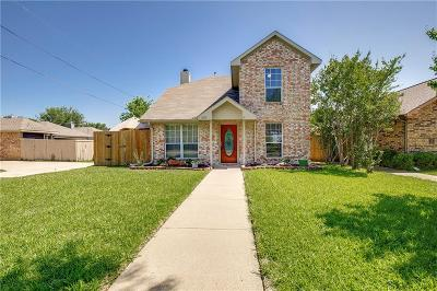 Wylie Single Family Home Active Option Contract: 205 Stone Circle