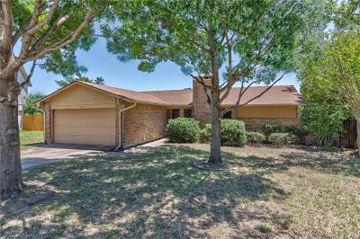 Lewisville Single Family Home Active Option Contract: 808 Foxwood Place