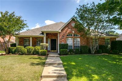 Flower Mound Single Family Home For Sale: 2816 Lake Ville Lane