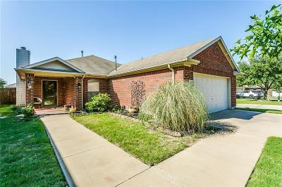 Fort Worth Single Family Home Active Option Contract: 10316 Devin Lane