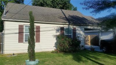 Dallas Single Family Home For Sale: 1218 Edgefield Ave