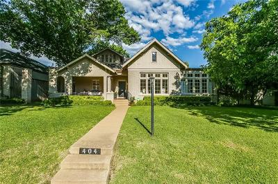 Fort Worth Single Family Home For Sale: 404 Virginia Place