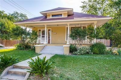 Fort Worth Single Family Home For Sale: 1953 Alston Avenue