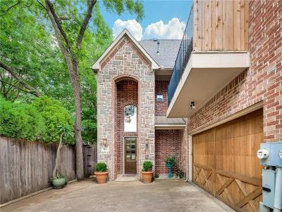 Dallas Townhouse For Sale: 4344 Cole Avenue