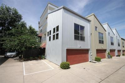 Dallas Townhouse For Sale: 4609 Lester Drive