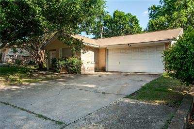 Euless Single Family Home Active Option Contract: 513 Bayless Drive