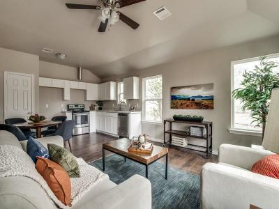 Fort Worth Single Family Home Active Option Contract: 2822 Avenue H