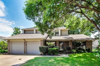 Euless Single Family Home For Sale: 510 Morningside Drive