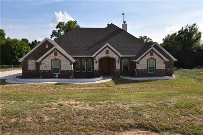 Azle Single Family Home For Sale: 136 Briar Meadows Circle