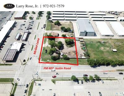 Lewisville Commercial Lots & Land For Sale