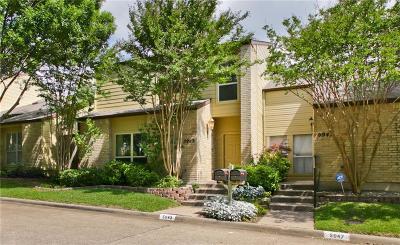 Dallas Condo For Sale: 5943 Preston Valley Drive