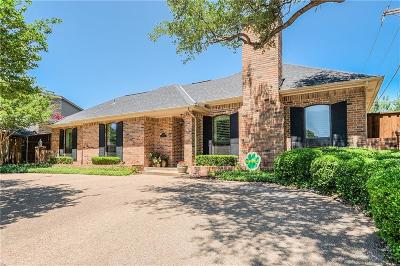 Dallas Single Family Home Active Option Contract: 16306 Amberwood Road