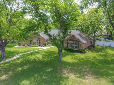 Granbury Single Family Home Active Option Contract: 6007 Nutcracker Drive