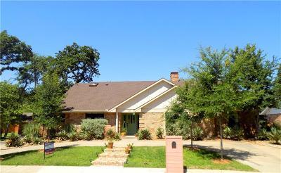 Irving Single Family Home For Sale: 1311 Broadmoor Lane