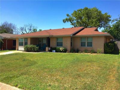 Dallas Single Family Home For Sale: 11327 Lippitt