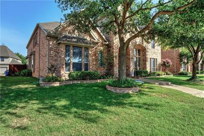 Frisco Single Family Home Active Option Contract: 12127 Settlers Knoll Trail