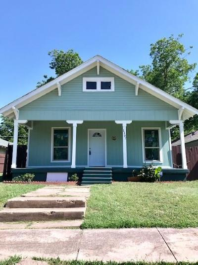 Fort Worth Single Family Home For Sale: 1107 E Baltimore Avenue