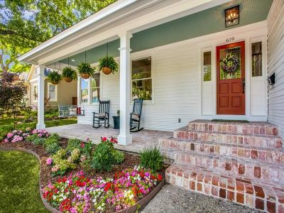 McKinney Single Family Home For Sale: 619 N Church Street