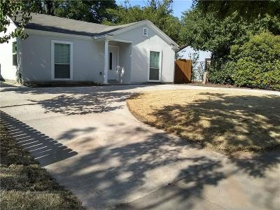 Single Family Home For Sale: 3607 Cortez Drive