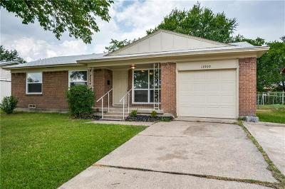 Farmers Branch Single Family Home Active Option Contract: 13909 Sundown Trail