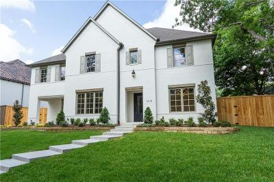 Dallas Single Family Home For Sale: 3915 Dalgreen Drive