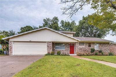 Arlington TX Single Family Home For Sale: $229,900