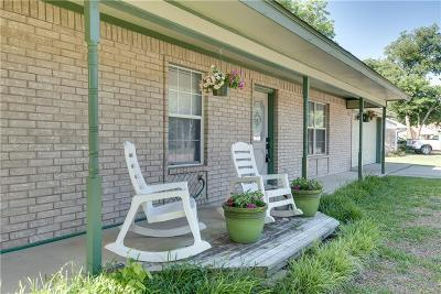 Springtown Single Family Home Active Option Contract: 412 Jean Drive
