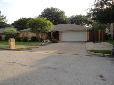 Bedford Single Family Home For Sale: 3709 Wheaton Drive
